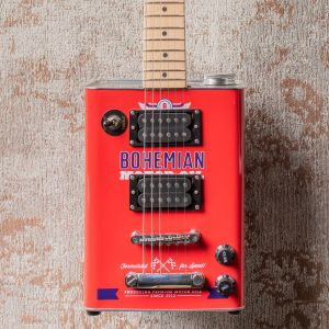Bohemian Boho Motor Oil Guitarra Eléctrica