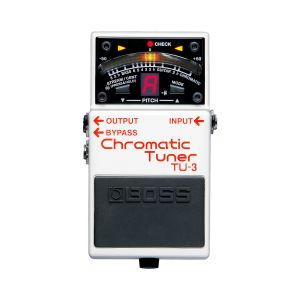 Boss TU-3 Chromatic Tuner Pedal Afinador Guitarra