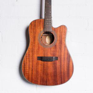 Bristol BD-15SCE Guitarra Electroacústica
