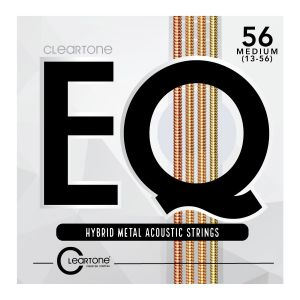 Cleartone Eq Hybrid Metal Acoustic Strings Medium 13-56