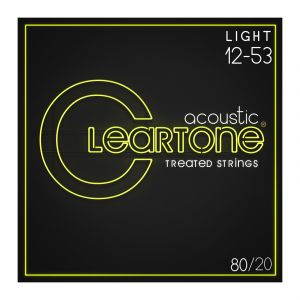 Cleartone 80/20 Bronze 12-53 Acoustic Guitar Strings