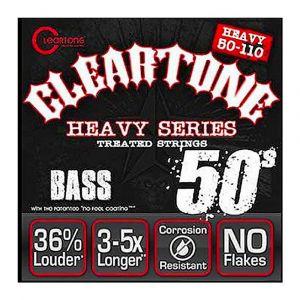 Cleartone 6550 50-110 Heavy Series Cuerdas Bajo
