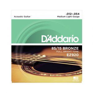 D'Addario EZ920 Cuerdas Guitarra Acústica