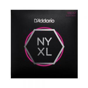 D'Addario Electric 09-42 NYXL0942 Nickel Wound Super Light