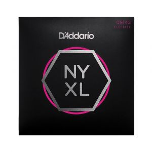 D'Addario Electric 09-42 NYXL0942 Nickel Wound Super Light