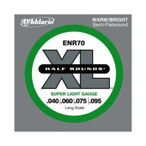 D'Addario ENR70 Half Rounds 040-095