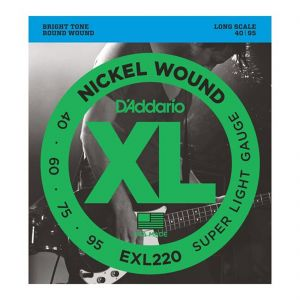 D'Addario Cuerdas Bajo 40-95 EXL220