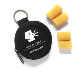 Protectores auditivos Ear Filters (monedero con 2 pares)