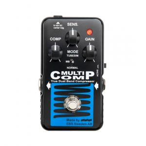 EBS Bass Pedals MultiComp Blue Label
