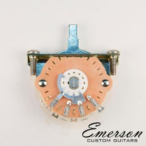 Emerson 3 Way Lever Switch (Oak Grigsby)