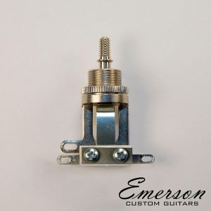 Emerson Switchcraft Short Straight 3 Way Toggle Switch