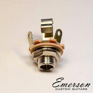 "Emerson Mono Switchcraft J11 Input Jack (1/4"") Bulk Pack"