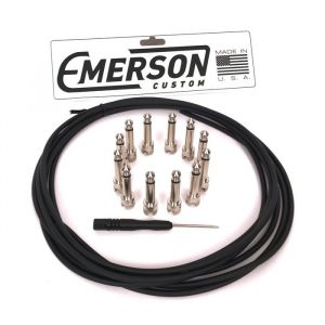 Emerson G&H Cable Kit Black