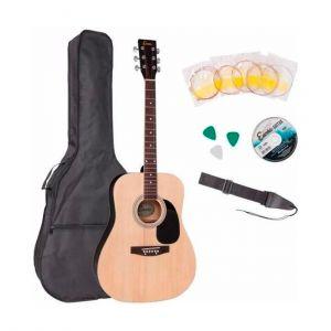 Encore Pack Guitarra Acústica EWP-100 Natural