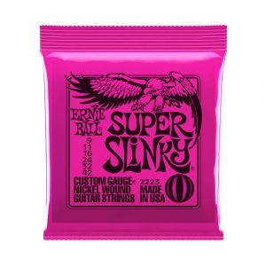 Ernie Ball 2223 Super Slinky 9-42 Cuerdas Guitarra Eléctrica