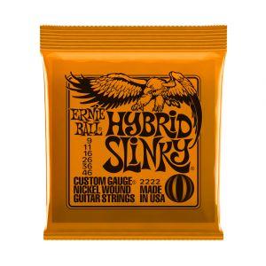 Ernie Ball 2222 Hybrid Slinky 9-46 Electric Guitar Strings