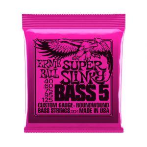 Ernie Ball 2824 Super Slinky 40-125 5-String Bass
