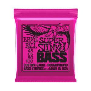 Ernie Ball 2834 Super Slinky 45-100 Cuerdas Bajo