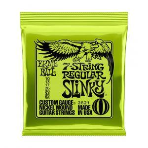 Ernie Ball 2621 Regular Slinky 10-56 7-String Set