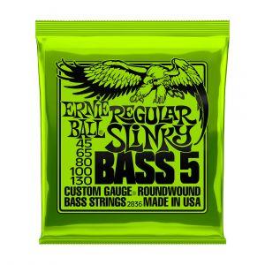 Ernie Ball 2836 Regular Slinky 45-130 5-String Set