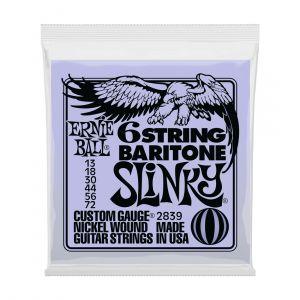 Ernie Ball 2839 Slinky 6-String Baritone Electric Bass Strings