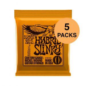 Ernie Ball Hybrid Slinky 9-46 Pack 5