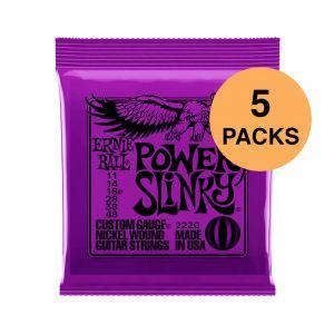 Ernie Ball Power Slinky 11-48 Pack 5