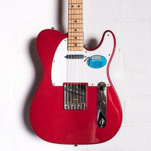Fender Standard Telecaster James Burton Mexico Candy Apple Red