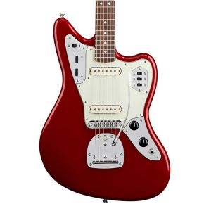 Fender Jaguar Mexico Candy Apple Red
