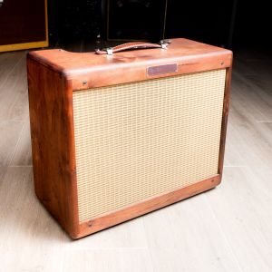Fender Limited Edition 57 Deluxe Knotty Alder Used Combo Amp
