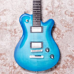 Framus D-Series Panthera Supreme, Ocean Blue Burst Transparent