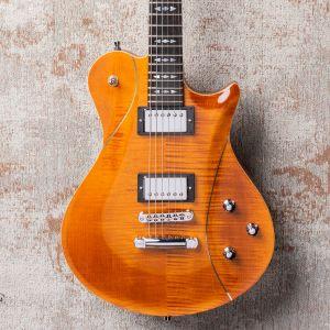 Framus Teambuilt Pro Series Panthera II Supreme - Amber Transparent High Polish