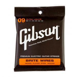 Gibson SEG-700UL Brite Wires 9-42