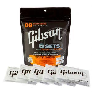 Gibson NPS 5 Set Eléctrica Ultra Lights 09-42