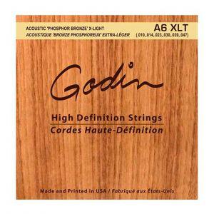 Godin Juego Cuerdas Acústica Phosphor Bronze 010-047