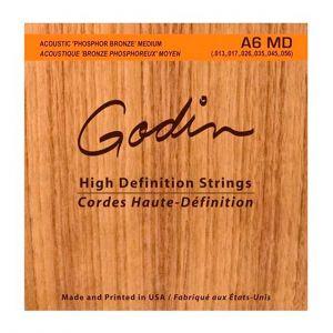 Godin Juego Cuerdas Acústica Phosphor Bronze 013-056