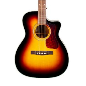 Guild OM-140CE In Antique Sunburst