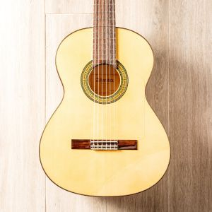 Alhambra 3F Pure Flamenco Guitar with Tap Plate