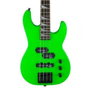 Jackson JS1X Concert Bass Minion Neon Green