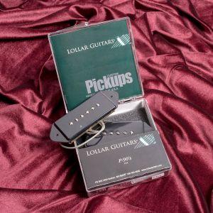 Lollar P90 DogEar Set (Tall Neck, Black)