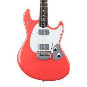 Music Man StingRay HH Trem - Coral Red