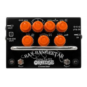 Orange Bax Bangeetar Guitar Pre-EQ Black