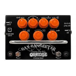 Orange Bax Bangeetar Guitar Pre-EQ Black