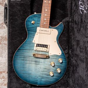 Patrick James Eggle Macon Special - Island Blue Burst - Aged Gold