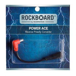 RockBoard Flat Polarity Reverser Cable – 30 cm, Acodado / Recto