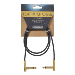 RockBoard GOLD Flat Patch Cable 80 cm