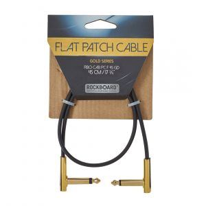 RockBoard GOLD Flat Patch Cable 45 cm