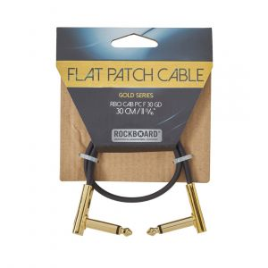 RockBoard GOLD Flat Patch Cable 30 cm