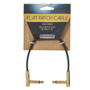 RockBoard GOLD Flat Patch Cable 20 cm