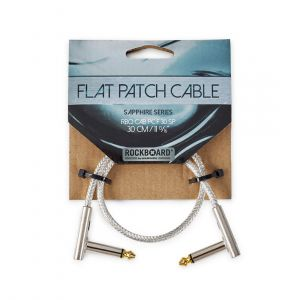 RockBoard SAPPHIRE Flat Patch Cable – 30 cm